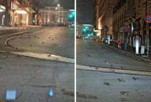 Dead birds fell from the sky in Rome on New Years Eve