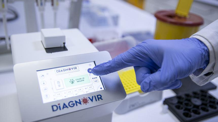 Designed to detect COVID 19 in 10 seconds