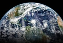 Earth predicted temperature change in the near future