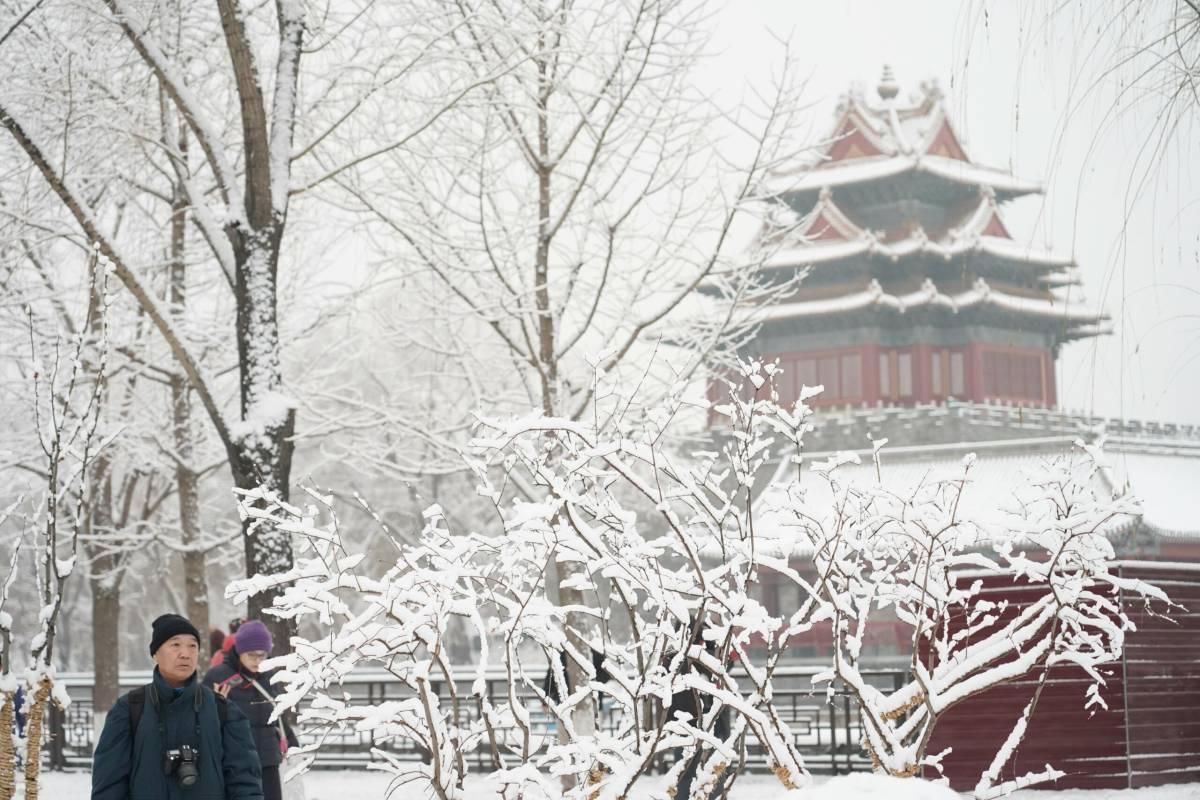 Freezing temperatures set new record in Beijing