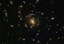 Hubble photographed the largest known Einstein rings
