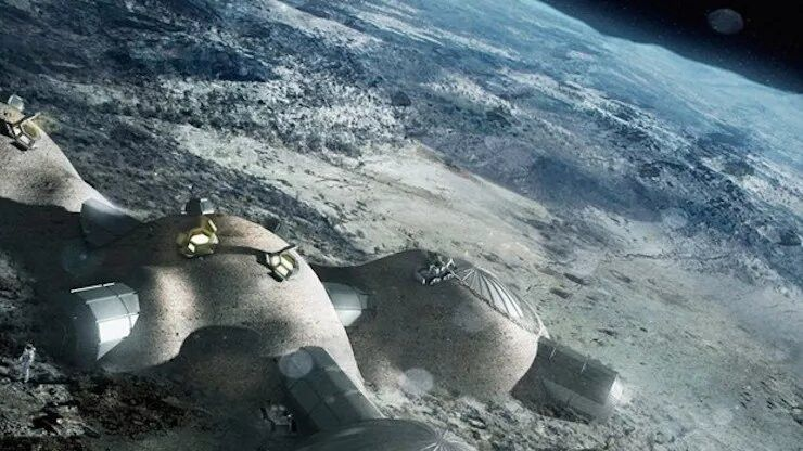 Lunar gold rush could lead to conflict on Earth