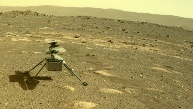 Mars helicopter successfully survives a cold night on the planets surface