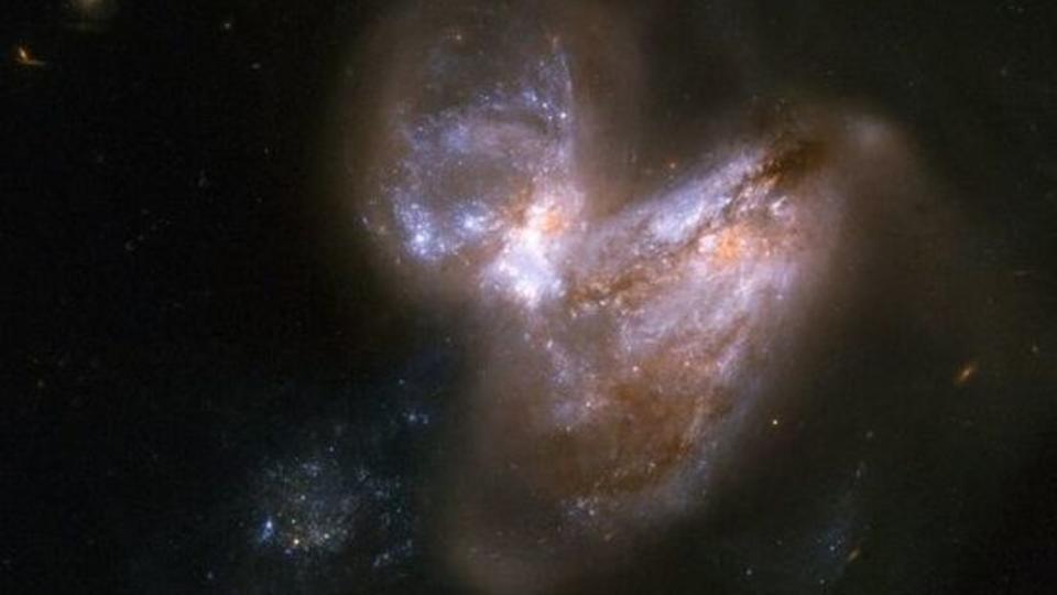 NASA publishes stunning collision photos