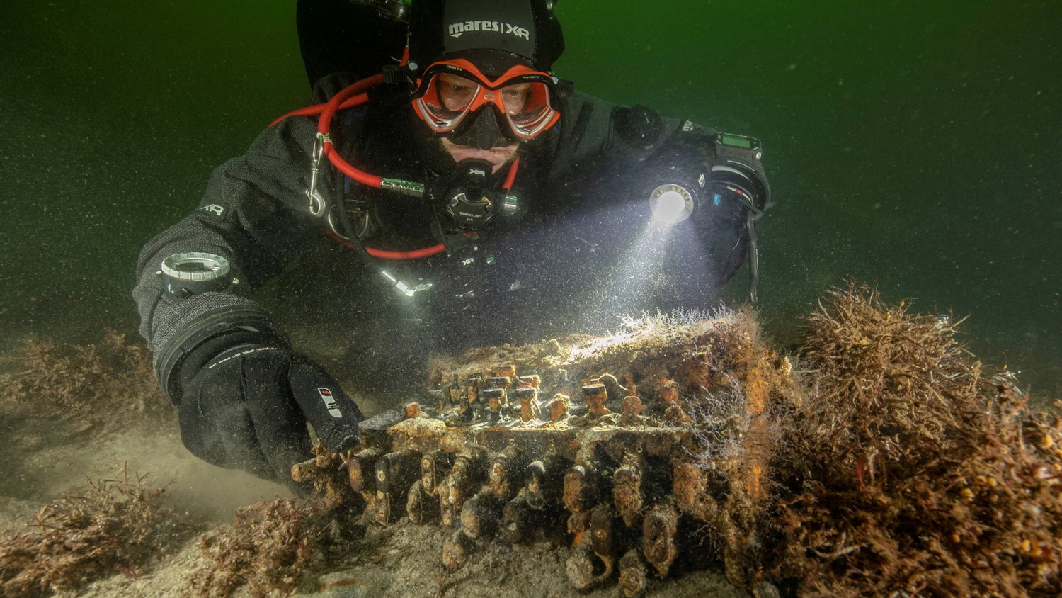 Nazi encryption machines found at the bottom of the Baltic Sea