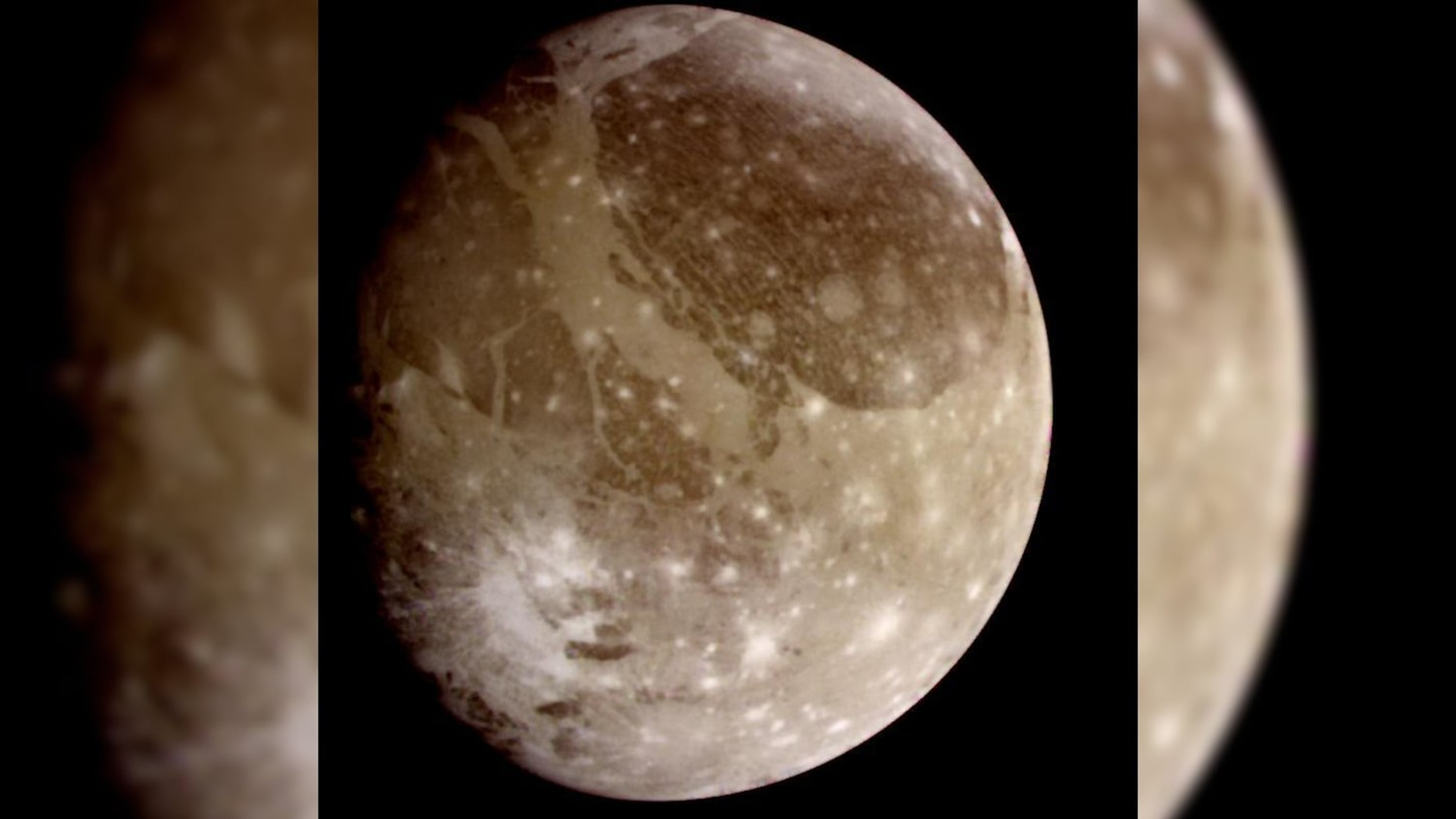 Scientists have recorded a signal emanating from the moon of Jupiter