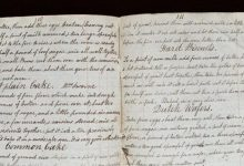 The chef found an 18th century cookbook and prepared dishes from it