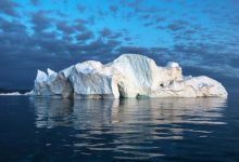 The earth is threatened by a new ice age
