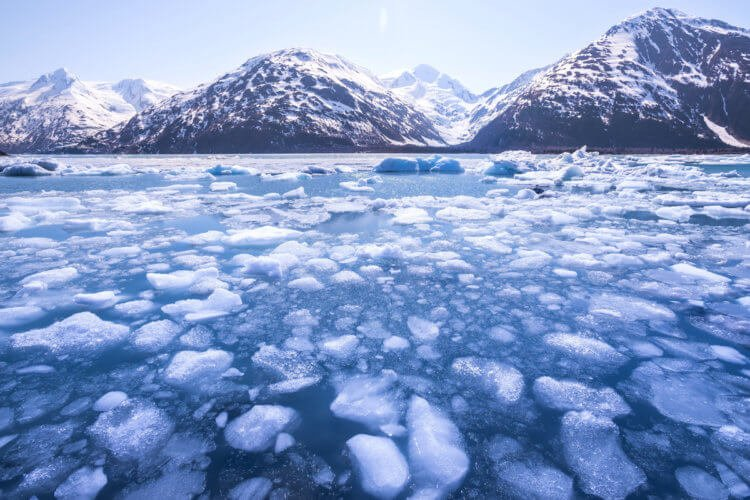 The melting of glaciers is one of the main drivers of global warming