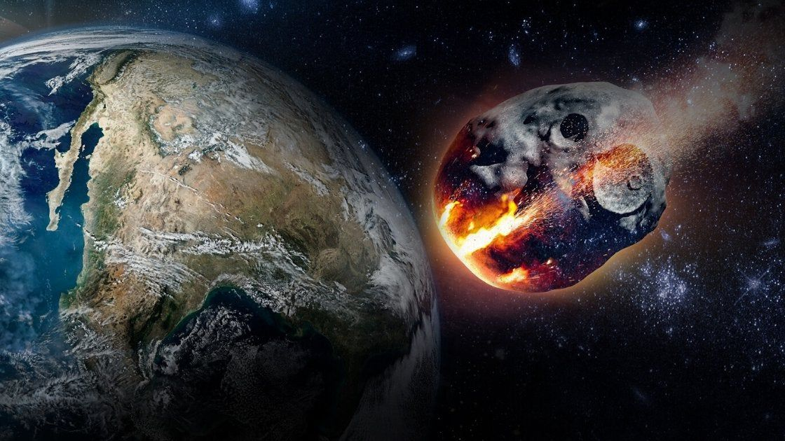 There is information that a giant asteroid will soon fall to Earth
