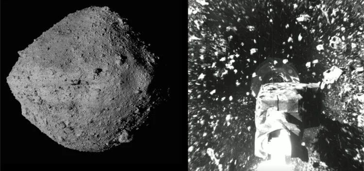 What does the surface of an asteroid look like
