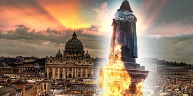 Why was Giordano Bruno burned