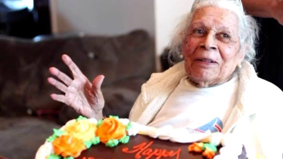 105 year old woman who survived two pandemics and defeated COVID 19 reveals her secret of health