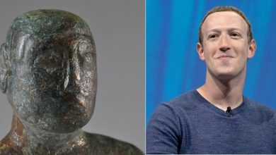 1900 year old figurine similar to Mark Zuckerberg found in Britain