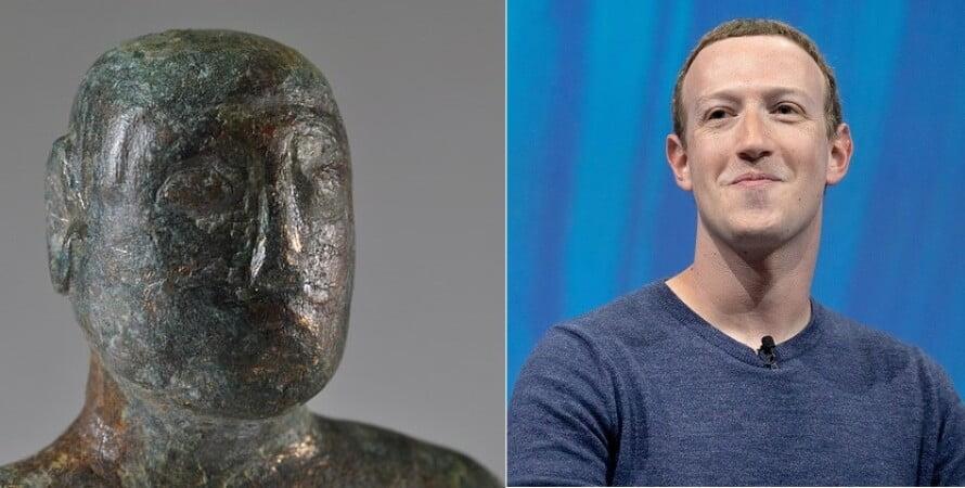 1900 year old figurine similar to Mark Zuckerberg found in Britain