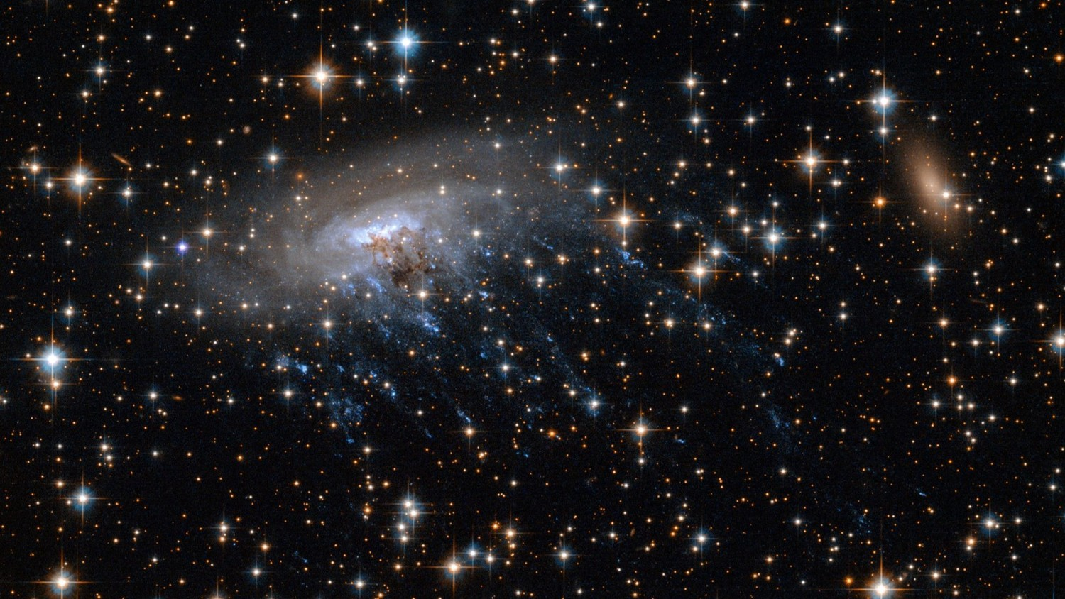 Astronomers figure out what makes galaxies spin