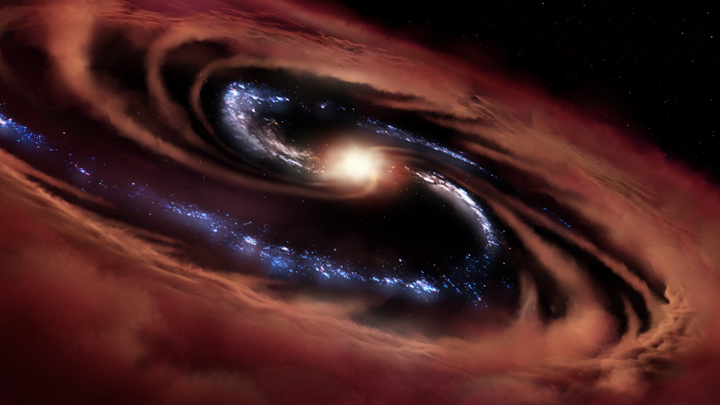 Astronomers mapped 25 000 giant black holes