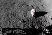 Chinese lunar rover discovers strange rock on the far side of the moon