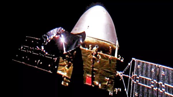 Chinese probe Tianwen 1 entered Mars waiting orbit
