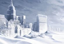 Earths climate is cyclical ice age is approaching