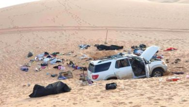 Eight bodies and a heartbreaking note found in a car stuck in the Libyan desert