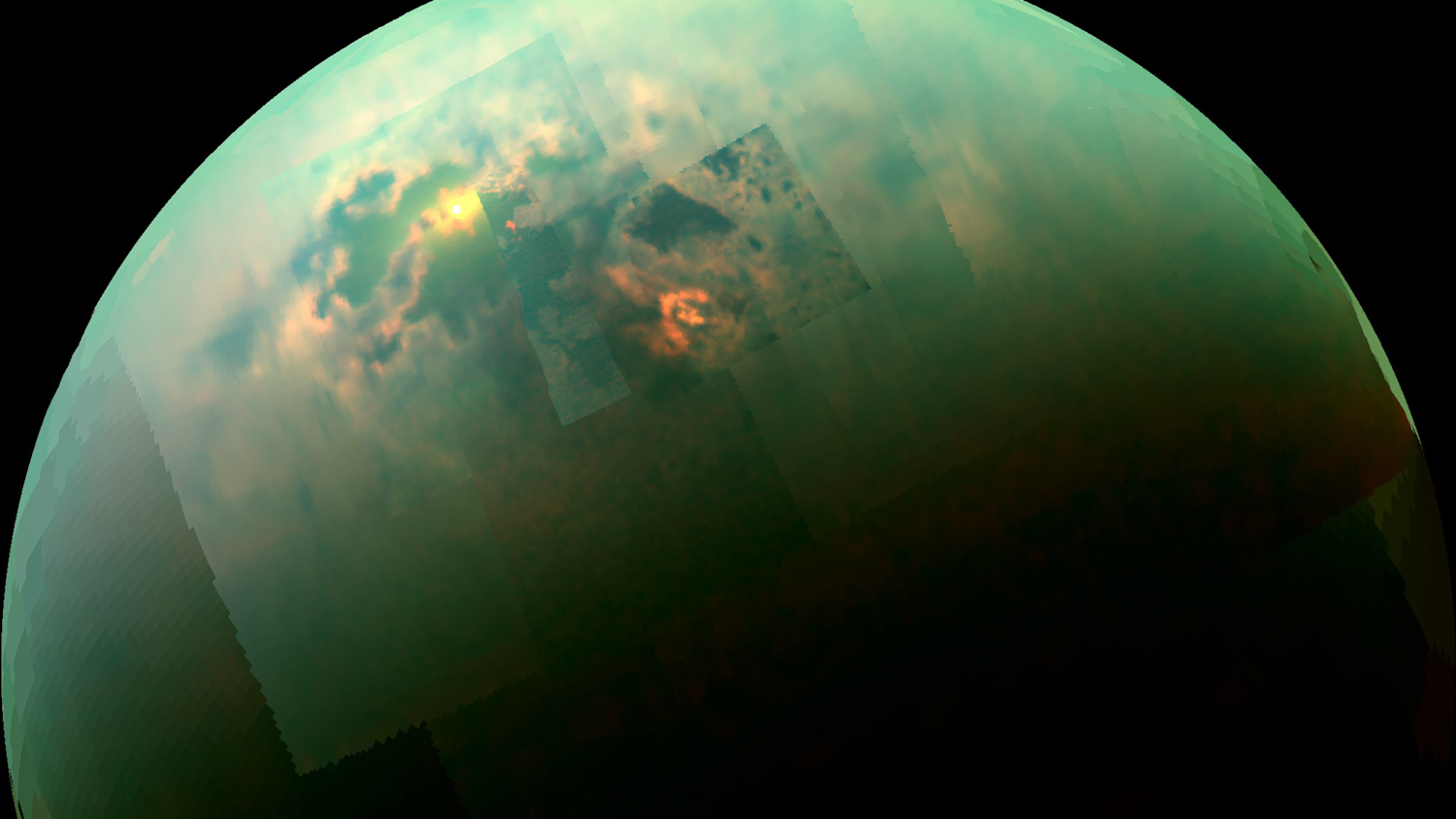 Giant rainbows and showers every 29 years scientists told what the weather is like on Titan