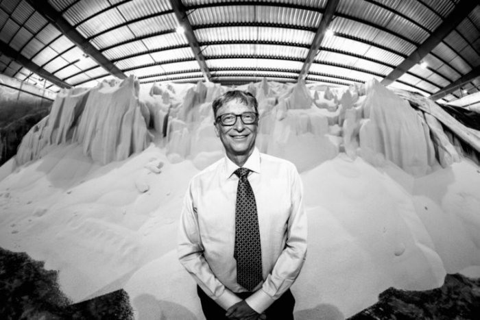 How is Bill Gates going to fight the pandemic and climate change
