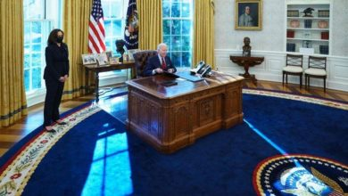 Joe Bidens Oval Office contains an extraterrestrial object from 1972 2