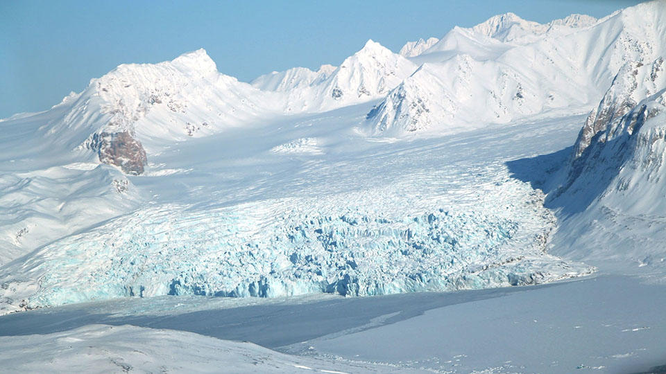 Matter from Mars discovered in the ice of Antarctica