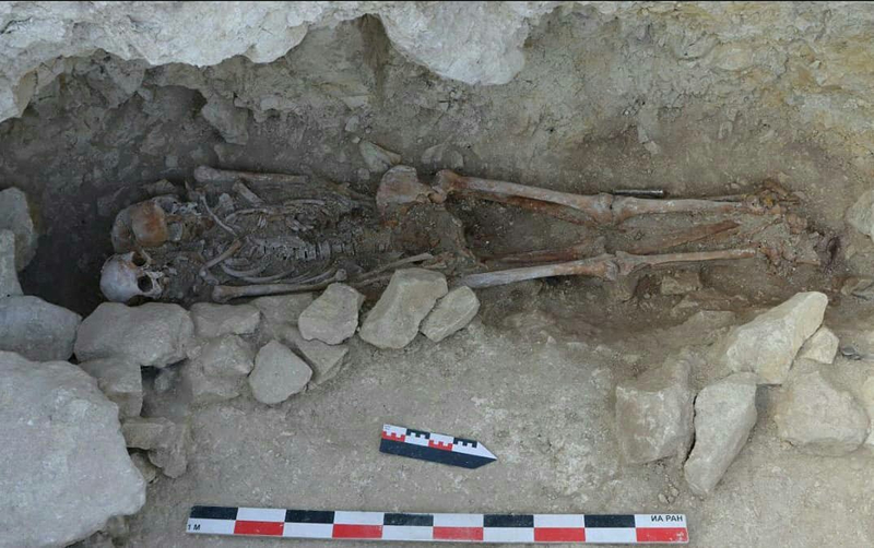 Roman necropolis found in Crimea 2