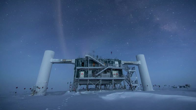 Russian scientists have found a source of cosmic neutrinos of high energies
