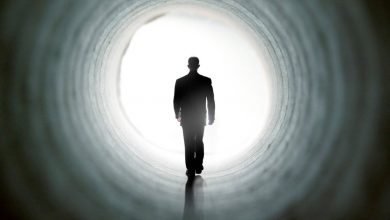 Scientists explain why people see a light at the end of the tunnel before they die