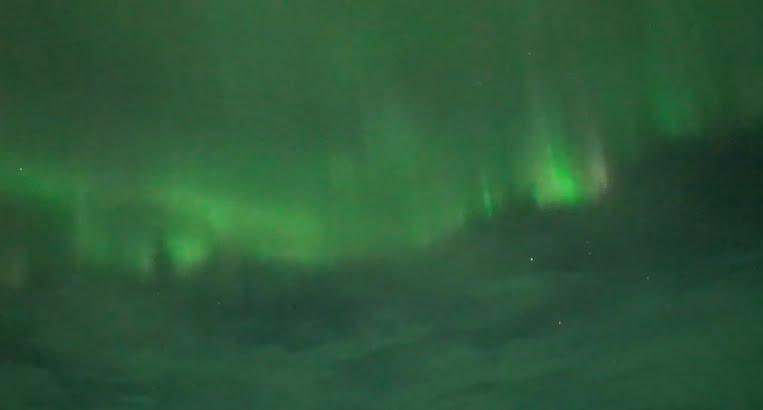 Solar wind caused a flash of aurora on Earth