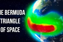 Space anomaly turns off satellites and computers of the ISS in the Bermuda triangle of space