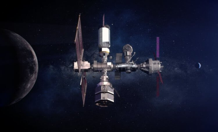 SpaceX will help NASA build a station near the moon What is it for