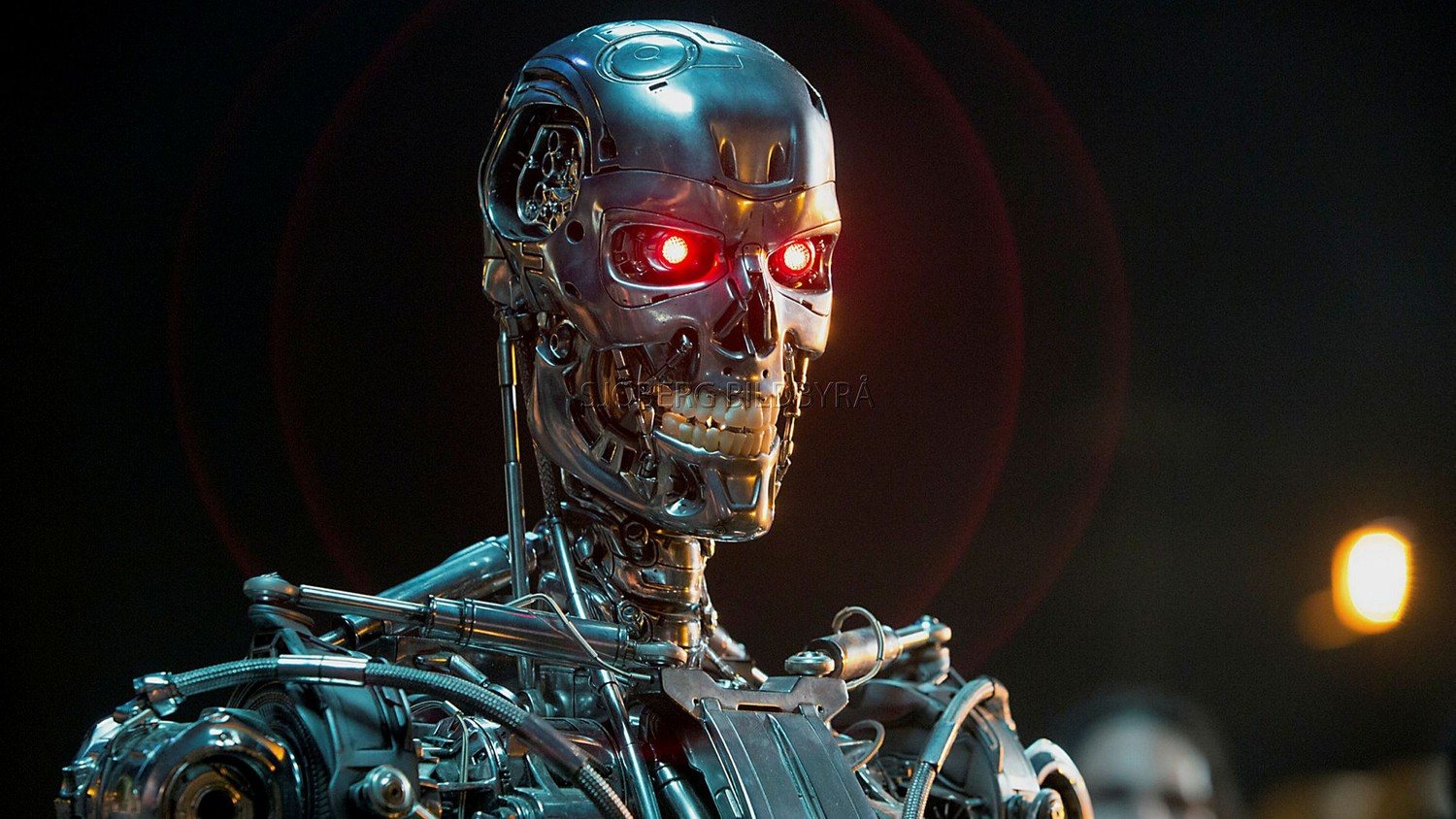 Terminator to be humans will not be able to control artificial intelligence