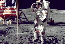 The expert refuted the myth that the Americans were on the moon