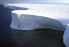 The largest iceberg in the world continues to fall apart 1