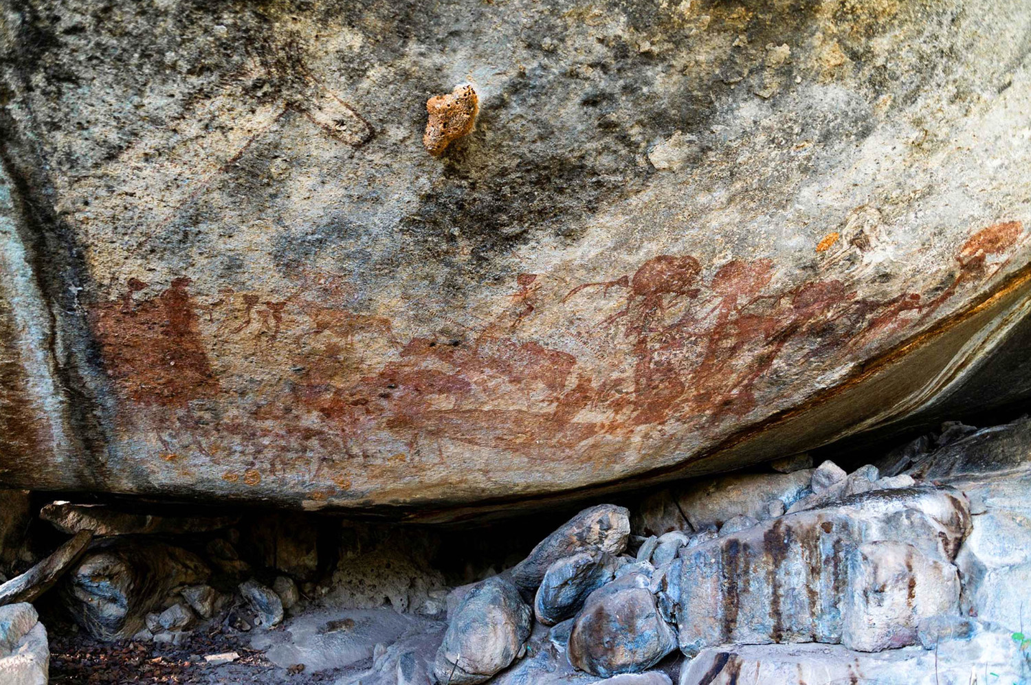 The mystery of an ancient drawing depicting people with buffalo heads unraveled 2