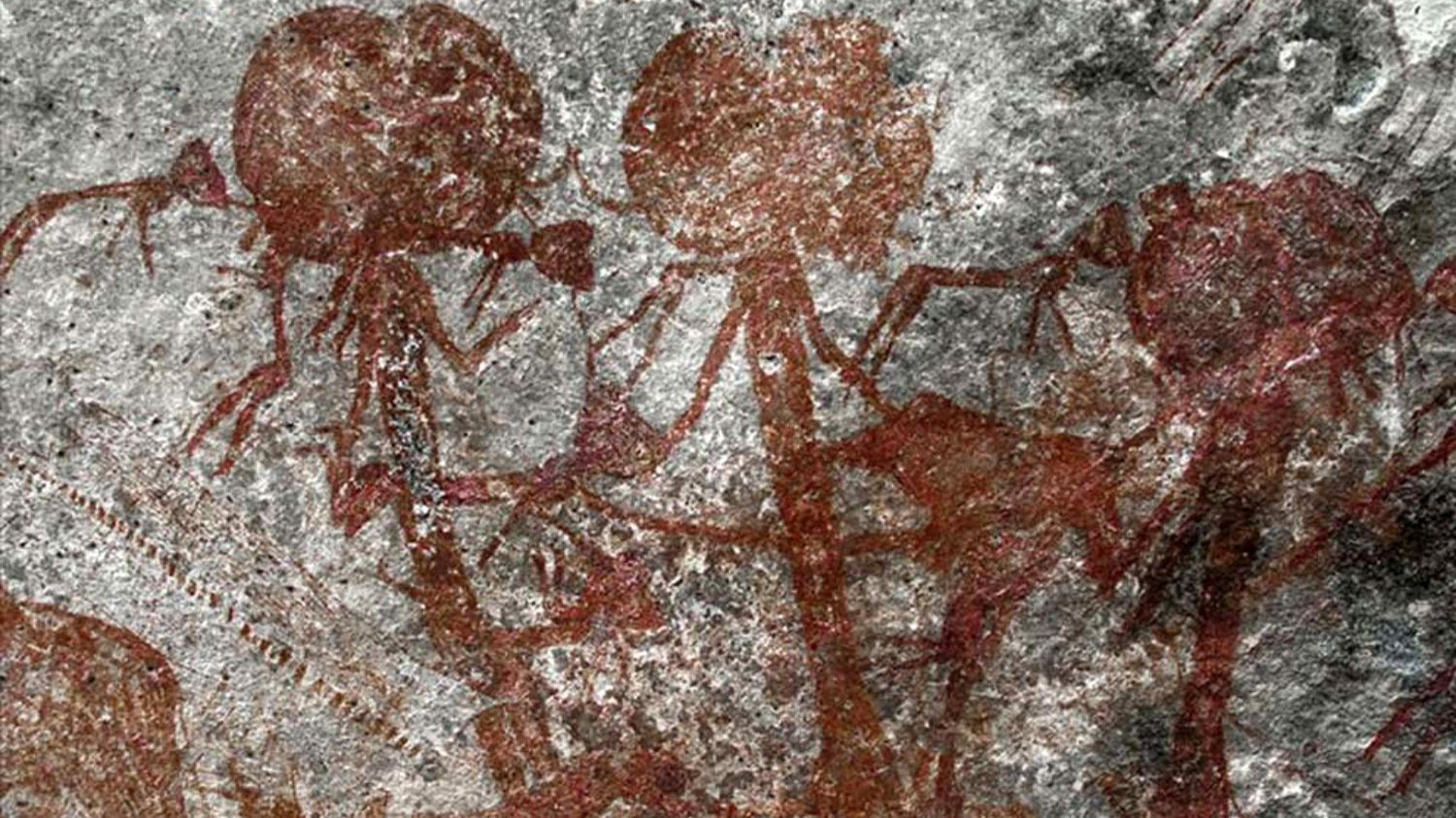 The mystery of an ancient drawing depicting people with buffalo heads unraveled