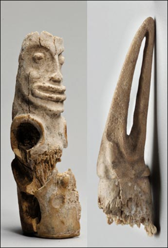 The mystery of stutuettes which are 4000 years old found in an ancient burial in Siberia 6