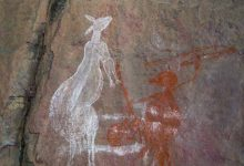 The oldest rock art of Australian aborigines found in the northwest of the continent