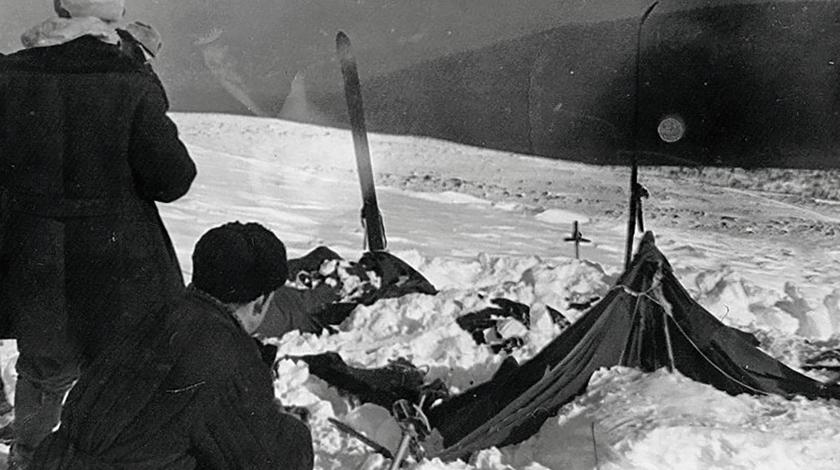 The reason for the death of tourists at the Dyatlov pass in 1959