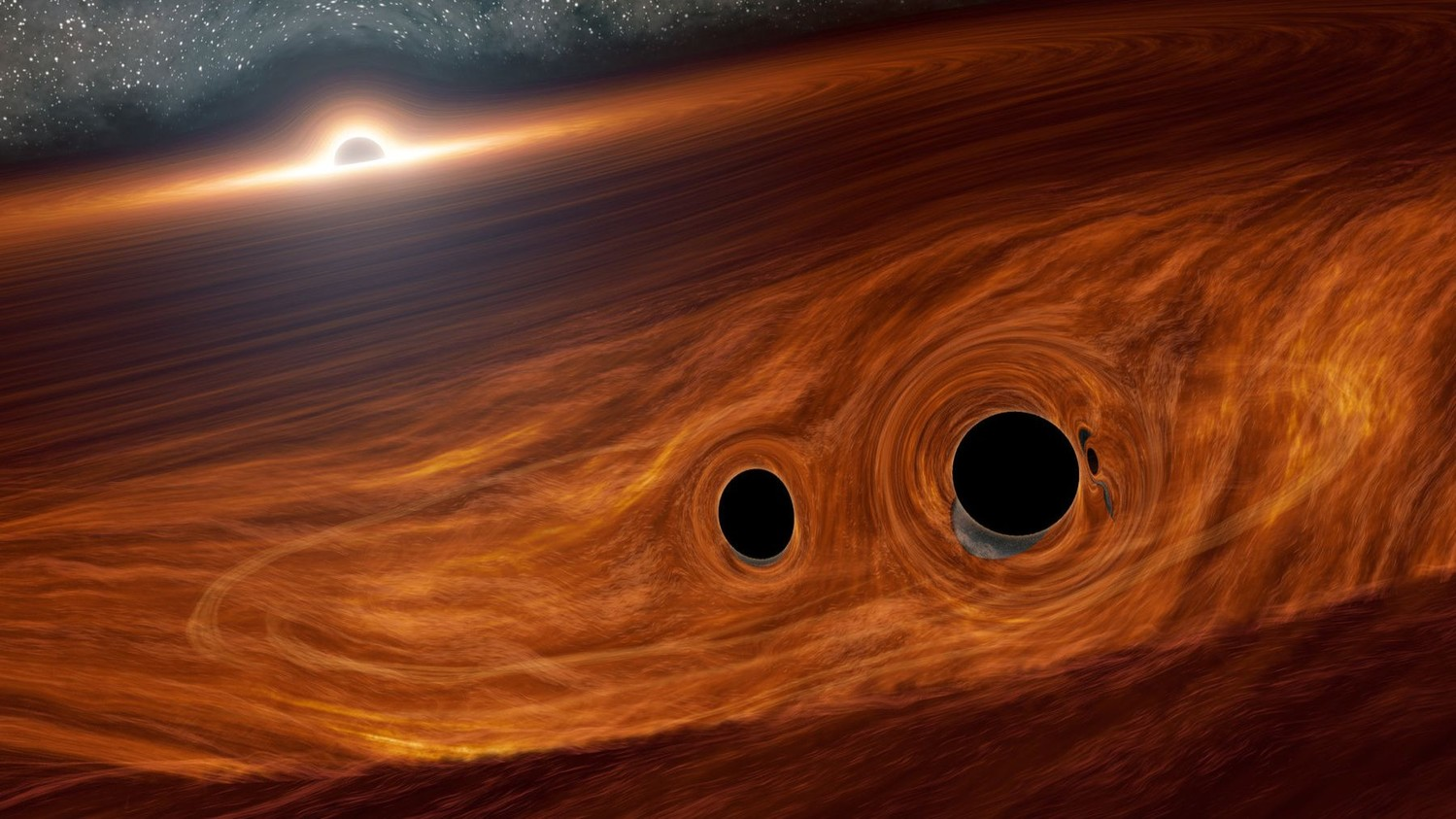 Young black holes violate the laws of physics scientists at a loss