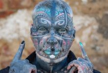 72 year old retired became the most tattooed person in Germany 1