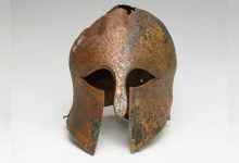 Helmet of ancient Greek warrior 2600 years old found in Israel