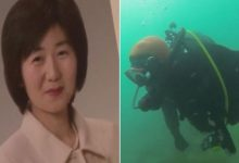 Japanese diver has been looking for his missing wife underwater for ten years