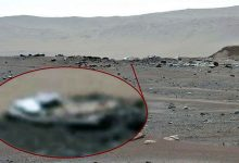 Perseverance rover camera captures strange objects