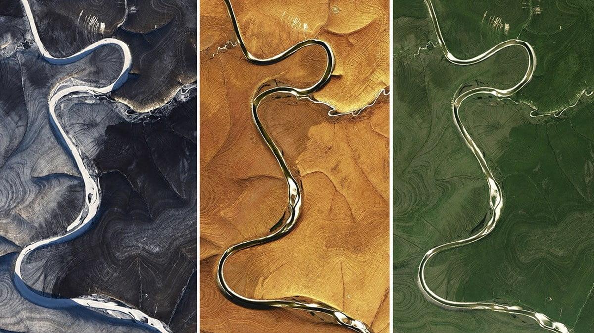 Satellite images of northern Siberia baffled NASA scientists