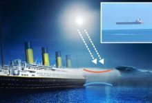 Ships soaring in the sky off the British Isles could reveal the 109 year old mystery of the sinking of the Titanic